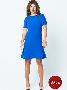 coleen-flippy-hem-embellished-dress