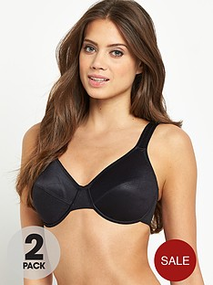 intimates-solutions-basic-plain-minimiser-bras-2-pack