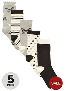 intimates-essentials-novelty-butterfly-crew-socks-5-pack