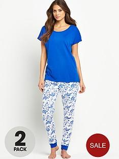 sorbet-short-sleeved-floral-leggings-set-2-pack