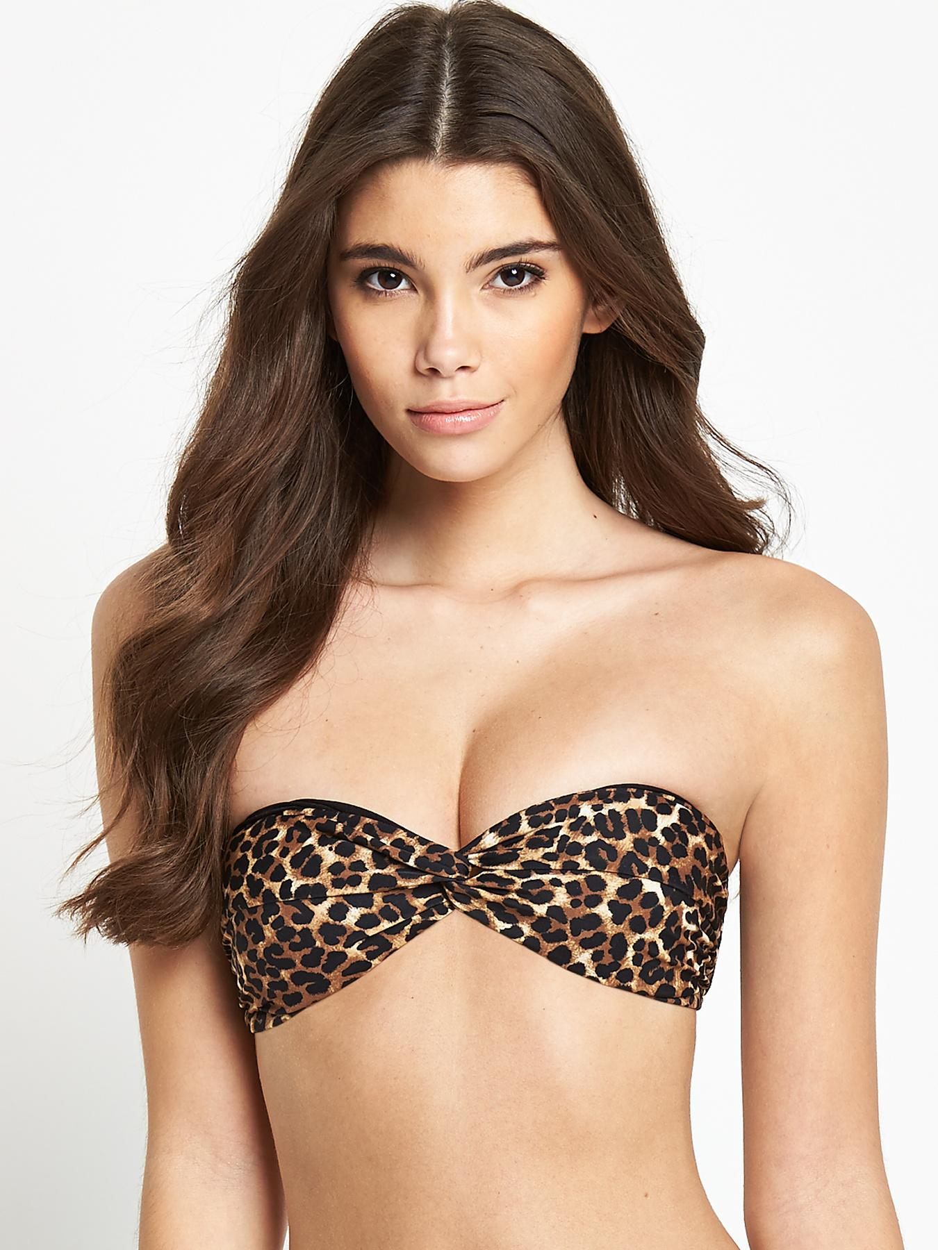 Mix and Match Bandeau Bikini Top at Littlewoods