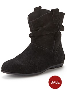 shoe-box-suede-flat-ankle-boots