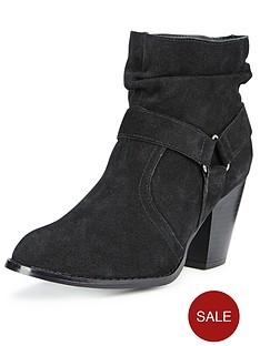 shoe-box-rhian-suede-mid-heel-ankle-boots-black
