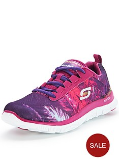 skechers-flex-appeal-trade-lace-up-trainers