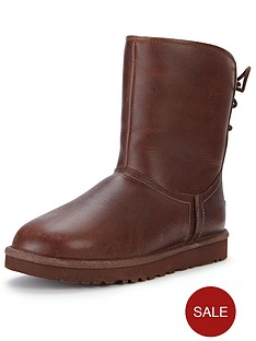 ugg-australia-mariana-leather-short-boots