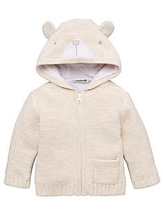 ladybird-baby-unisex-bear-applique-hooded-cardigan