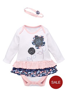 ladybird-baby-girls-tutu-frill-bodysuit-with-appliqueacute-flowers-and-headband