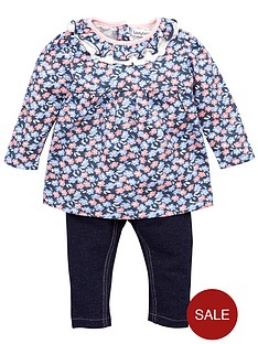 ladybird-baby-girls-ditsy-floral-top-and-jersey-jegging-set-2-piece