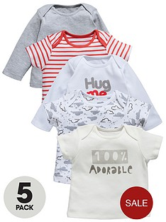ladybird-baby-unisex-t-shirts-hug-me-5-pack