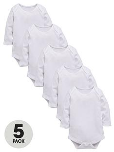 ladybird-baby-unisex-long-sleeved-boysuits-5-pack