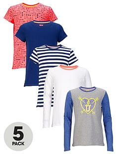 freespirit-girls-everyday-essentials-long-sleeve-and-short-sleeve-tops-5-pack