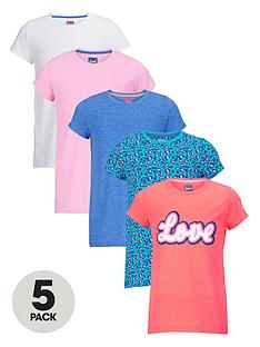 freespirit-girls-everyday-essentials-short-sleeve-tops-5-pack