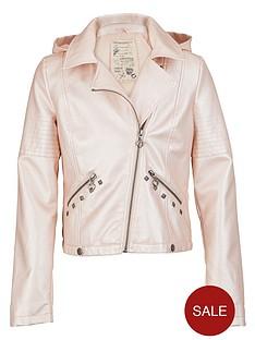 freespirit-girls-metallic-pu-biker-jacket-with-detachable-hood-and-studs