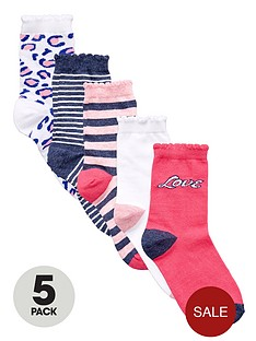 freespirit-girls-everyday-essentals-patterned-ankle-socks-5-pack