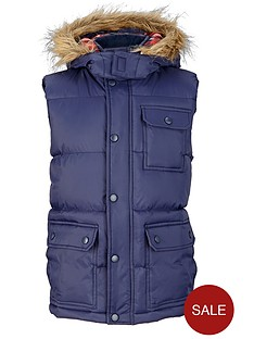 demo-boys-padded-gilet-with-faux-fur-trim-hood