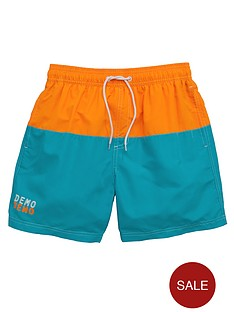 demo-boys-colour-block-swim-shorts