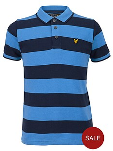 lyle-scott-stripe-polo-shirt