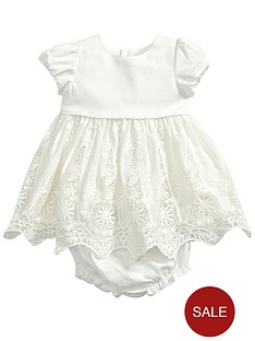 mamas-papas-dress-and-knickers-set