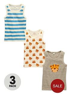 ladybird-boys-tiger-vests-3-pack