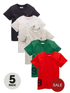 ladybird-boys-t-shirts-5-pack