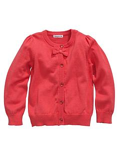 ladybird-girls-essential-coral-cardigan
