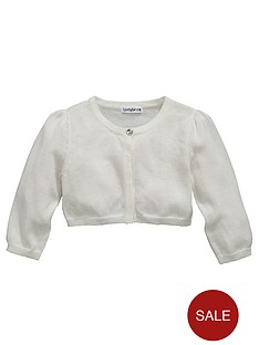 ladybird-girls-crop-sleeve-shrug-lurex-cardigan