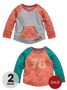 ladybird-girls-78-sweat-tops-2-pack
