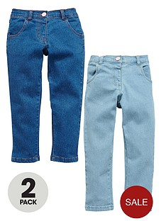 ladybird-girls-skinny-jeans-2-pack
