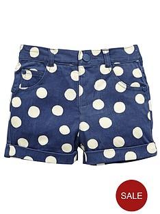 ladybird-girls-spot-twill-shorts