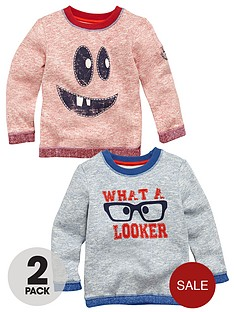 ladybird-boys-fashion-sweat-tops-2-pack