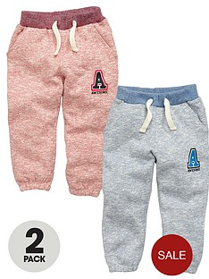 ladybird-boys-brushed-cotton-fashion-joggers-2-pack