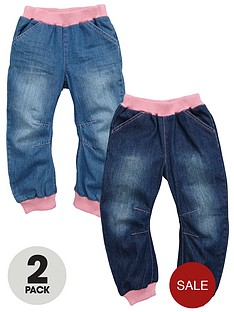 ladybird-girls-cuffed-jeans-2-pack-12m-7yrs