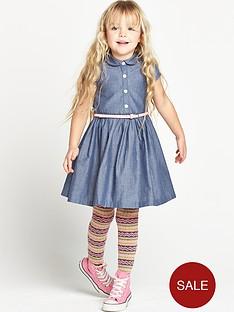 ladybird-girls-belted-chambray-shirt-dress