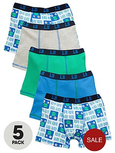 ladybird-boys-mouth-trunks-5-pack