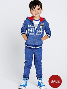 ladybird-boys-textured-hooded-jog-set
