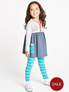 ladybird-girls-corsage-chambray-tunic-and-leggings-set