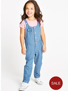 ladybird-girls-denim-dungaree-set-2-piece
