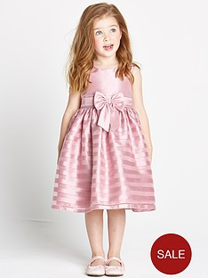 ladybird-girls-pink-stripe-organza-occasion-dress