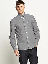 Mens Classic Gingham Long Sleeve Shirt