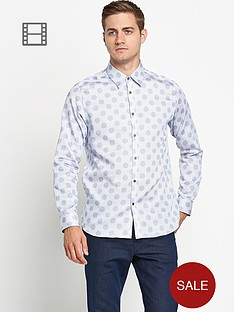 ted-baker-mens-long-sleeved-large-spot-shirt