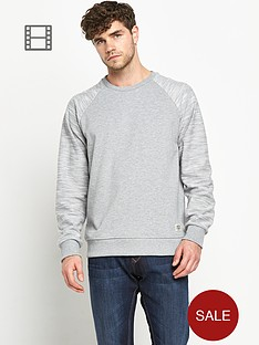 jack-jones-originals-mens-contrast-sleeve-sweatshirt