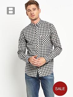 ben-sherman-mens-tartan-long-sleeved-shirt