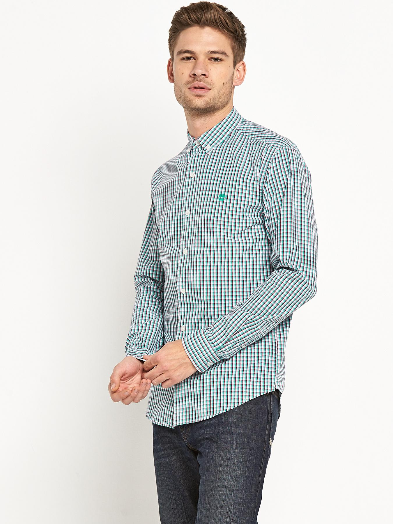 Rattle River Gingham Long Sleeve Shirt