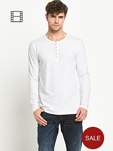 replay-mens-long-sleeved-henley-shirt