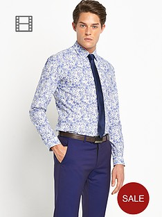 ben-sherman-mens-flower-print-shirt