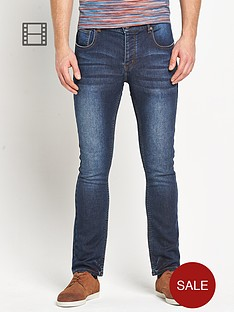 goodsouls-mens-skinny-leg-dark-vintage-wash-jog-jeans
