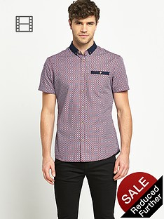goodsouls-mens-short-sleeve-contrast-collar-print-shirt