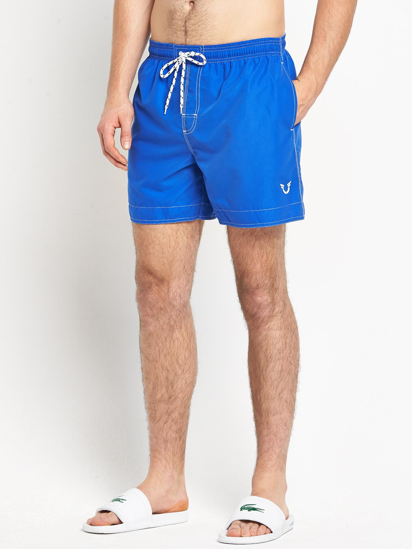 Mens Basic Swim Shorts at Littlewoods