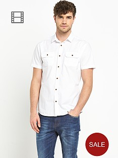 goodsouls-mens-short-sleeve-white-poplin-shirt