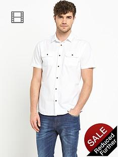 goodsouls-mens-short-sleeve-white-poplin-shirt